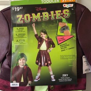 Girl Zombies cheerleader Halloween costume
